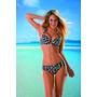 Malla Bikini Taza Soft Cuadrillé Con Vedetina Verano Oferta