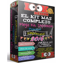 Kit Imprimible Empresarial Oro + Candy Bar + Nuevos Kits !!!