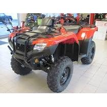 Honda Rancher Trx 420 Te 2016 Secuencial Rancher Linea Nueva
