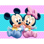 Kit Imprimible Candy Bar Minnie Y Mickey Baby Golosinas