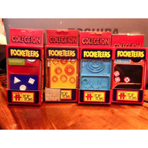 Pocketeers - Lote X 4 - Poketers - Top Toys - Tomy - 1978