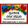 Globos Con Helio //art. Personalizados///zona Oeste