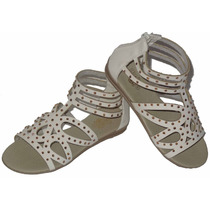 Sandalias Nena Botanguita Blanco Brillo Dreams Calzado G
