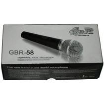 Microfono Gbr 58 Con Cable Dj Garmath