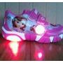 Zapatillas Con Luz De Sofia La Princesa Importadas Miralas!