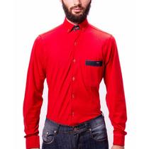 Camisa De Hombre Massimo   Piqué