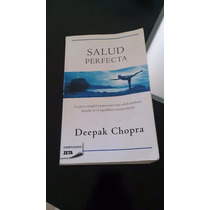Deepak Chopra La Salud Perfecta Espiritualidad Zeta- Nuevo!
