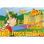 Kit Imprimible El Chavo Del 8 Candy Bar Editable Golosinas