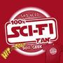 Remera Geek Estampa 100% Sci-fi Fan Caballero - Dama