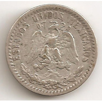 Mexico, 20 Centavos, 1934. Plata. Vf