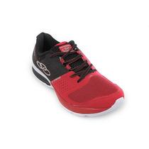 Zapatillas Running Hombre Olympikus Cushy 2 Rojo Deporfan