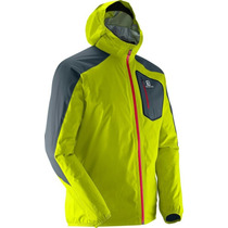 Campera Salomon Hombre Impermeable Y Respirable