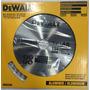 Disco Hoja Sierra Circular Dewalt 7 1/4 184mm 48d Aluminio