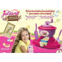 Juliana Fabrica De Chocolates !!! Con Luz Y Cd Para Diseñar