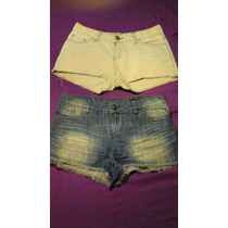2x1 Short Nasa / Kosiuko Pantalon Corto De Mujer T S / M