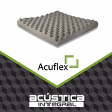 Placa Panel Acustico Fonoabsorbente Conos Espuma500x500x25mm