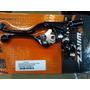 Juego Manijas Wirtz Pro Black Con Soporte Kawasaki Kx/kxf