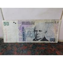 Billete 50 Pesos Serie A Blejer Camaño 2002 B3607