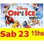 Entradas Disney On Ice Plateas Madero Alta