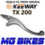 Manija De Freno Keeway Tx 200 Original Unicamente Mg Bikes