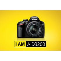 Nikon D3200 Kit 18-55 Vr 24.2mp Full Hd Rosario