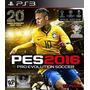 Pes 16 Digital Pro Evolution Soccer 2016 Entrega Inmediata