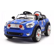 Auto A Batería Tipo Mini Cooper 12v Azul, Rosa,rojo O Crema