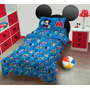 Sábanas Infantil Mickey Letras - Original Piñata
