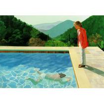Cuadros David Hockney Pop Art Canvas Montados En Bastidor