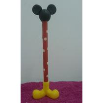 Souvenir Lapicera Porcelana Fria Minnie Mickey Kitty
