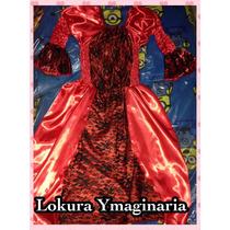 Vestido De Dama Antigua. Niña