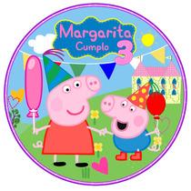 Kit Imprimible Peppa Pig Y George Invitaciones Candy Bar