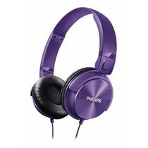 Auriculares Vincha Philips Shl3060 Pp Violeta Gtia