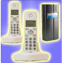 Kit Portero Inalambrico Con 2 Telefonos Internos Vicom 3622f