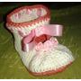 Zapatitos A Crochet Rococo