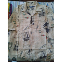 Camisa Hawaiana Polo Ralph Lauren Importada Hombre Pesca