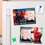 Souvenir Cumpleaños Spiderman / Hombre Araña - Iman Con Foto