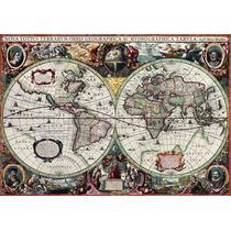 Rompecabezas Puzzle Mapa Histórico Tomax X1000 Piezas