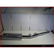 Turbo Deportivo 110 Oval Aluminio Simple Ira - Beitia Motos