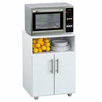Mueble Mesa Auxiliar De Cocina Rack Porta Microondas Oferta