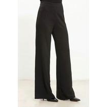 Pantalón Palazo T 46 Al 52. Solo Negro $ 860