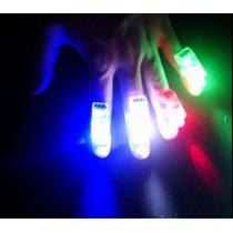 Dedos Anillos Led Luminosos Cotillon Fiesta 15 Años Dj Video
