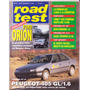 Revista Road Test Nº47 Ford Orion Peugeot 405 Gl 1,6