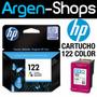 Cartucho Hp 122 Ch562hl Tinta Color Original Impresora 3050