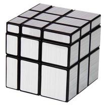Cubo Rubik Mirror Silver 3x3x3 - Original En Caja
