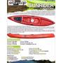 Kayak Sit On Top Sunrider Single Con Remo Varios Colores