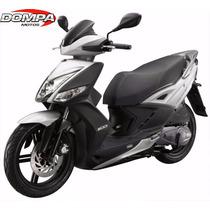 Kymco Agility 200 Scooter Cuidad Okm 2016 Calle Dompa Motos