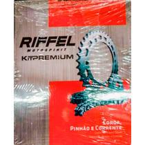 Kit Transmision Riffel Yamaha Crypton. Panella Motos