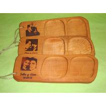 Souvenir Casamiento Tabla Picada Madera Personalizada Rostro