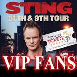 Entradas Sting Vip Fans Primeras Filas Lo Mejor